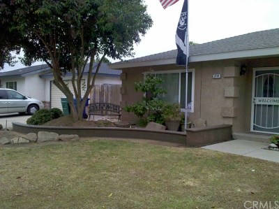 Madera Single Family Home For Sale: 2709 Holiday Way