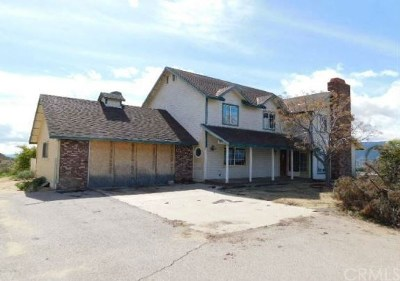 Wildomar CA Single Family Home For Auction: $440,000