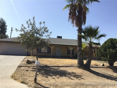 Madera Single Family Home For Sale: 17278 El Paso Road