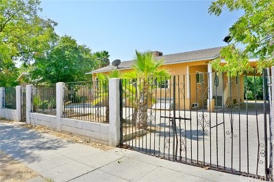 Madera Single Family Home For Sale: 818 South C