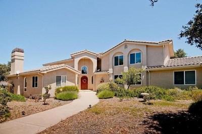 Monterey Single Family Home For Sale: 25944 Paseo Estribo
