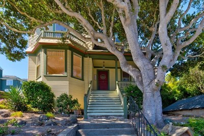 Pacific Grove Single Family Home For Sale: 483 Laurel Avenue