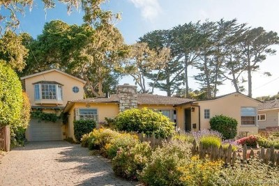 Pacific Grove Single Family Home For Sale: 1035 Egan Avenue