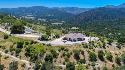 Carmel Valley Single Family Home For Sale: 34901 Sky Ranch Road