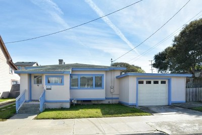 Pacific Grove Single Family Home For Sale: 511 17th Street