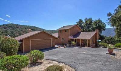 Carmel Valley Single Family Home For Sale: 20 Asoleado Drive