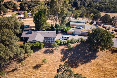 Red Bluff Single Family Home For Sale: 14864 Pleasant Valley Drive