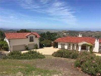 Salinas Single Family Home For Sale: 360364 San Benancio Road