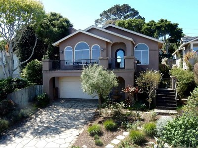 Pacific Grove Single Family Home For Sale: 1025 Jewell Avenue