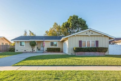 Salinas Single Family Home For Sale: 1226 Dickens Drive