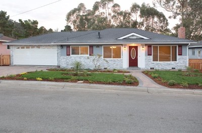 Pacific Grove Single Family Home For Sale: 2864 Forest Hill Boulevard