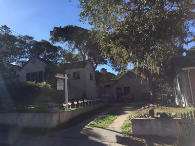 Monterey Multi Family Home For Sale: 851 Cypress Street