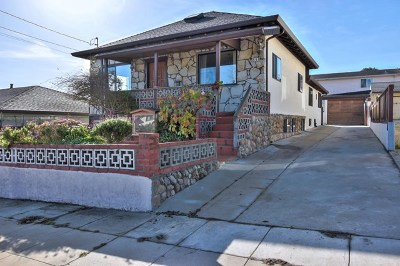 Monterey Single Family Home Active Under Contract: 833 Hellam Street