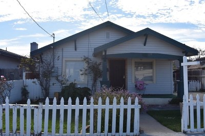 Salinas Single Family Home For Sale: 729 California Street