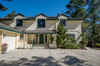 Monterey Single Family Home For Sale: 400 Dry Creek Road