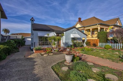 Monterey Single Family Home For Sale: 1221 7th Street