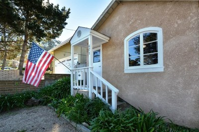 Monterey Single Family Home For Sale: 671 Lottie Street