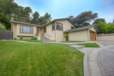 Monterey Single Family Home For Sale: 751 Toyon Drive