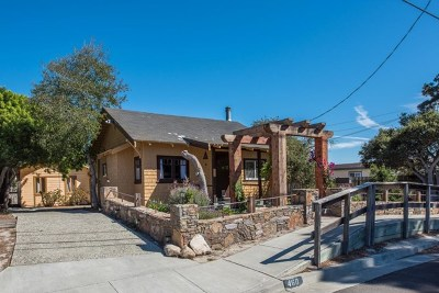Monterey Single Family Home For Sale: 460 Archer Street