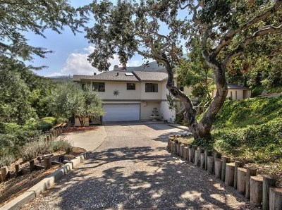 Salinas Single Family Home For Sale: 22636 Black Mountain Road
