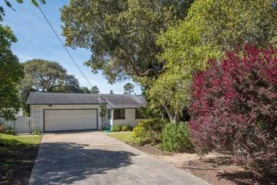Pebble Beach Single Family Home For Sale: 1012 San Carlos Road