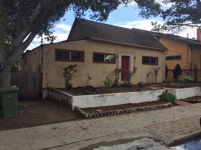 Monterey Single Family Home For Sale: 419 Watson Street