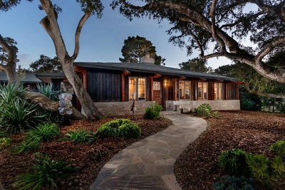 Pebble Beach Single Family Home For Sale: 2897 Galleon Road