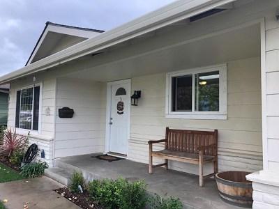 Salinas Single Family Home For Sale: 1564 Cupertino Way