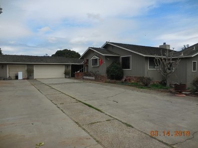 Salinas Single Family Home For Sale: 8520 Coker Road