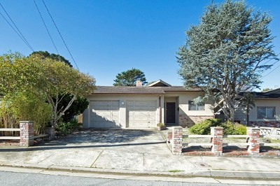 Monterey Single Family Home For Sale: 725 Lobos Street
