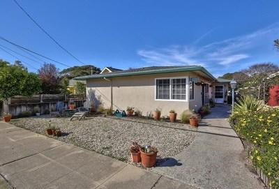 Pacific Grove Single Family Home For Sale: 278280 Junipero Avenue