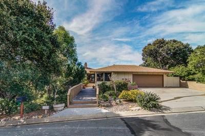 Salinas Single Family Home For Sale: 13580 Paseo Terrano