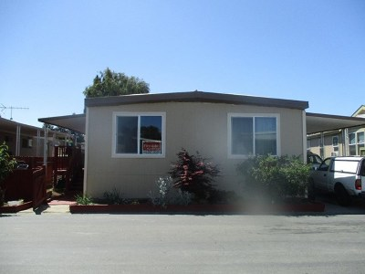 San Jose CA Mobile Home For Sale: $130,000