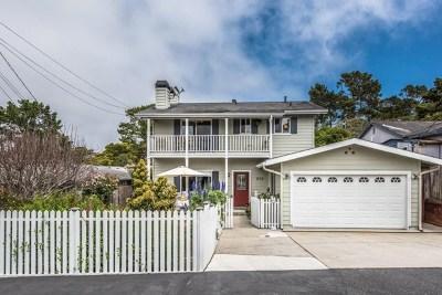 Monterey Single Family Home Active Under Contract: 858 Jessie Street