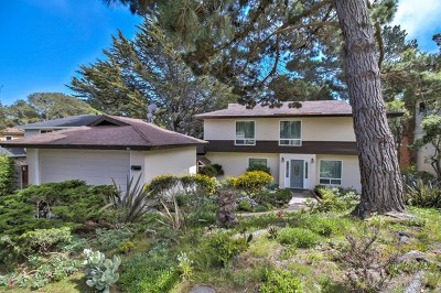 Monterey Single Family Home For Sale: 551 Dry Creek Road