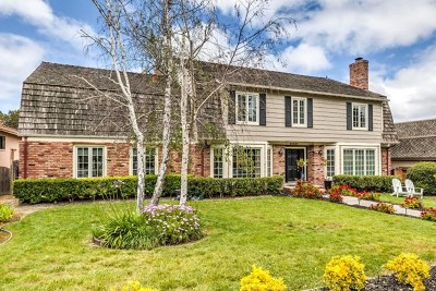 Monterey Single Family Home For Sale: 8 Deer Forest Drive