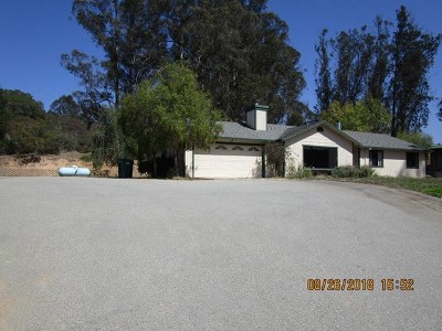 Salinas Single Family Home For Sale: 2233 San Miguel Canyon Road