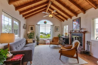 Monterey Single Family Home For Sale: 615 Mar Vista Drive