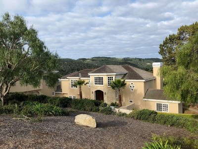 Monterey Single Family Home For Sale: 23653 Determine Lane