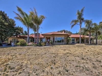 Salinas Single Family Home For Sale: 101 Pine Canyon Road