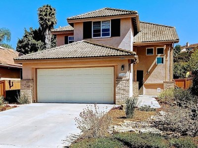 San Diego Single Family Home Active Under Contract: 11081 Melton Court