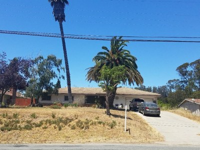 Salinas Single Family Home For Sale: 18121 Pesante Road