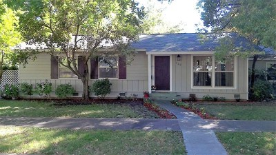 Chico Single Family Home For Sale: 620 Alder Street