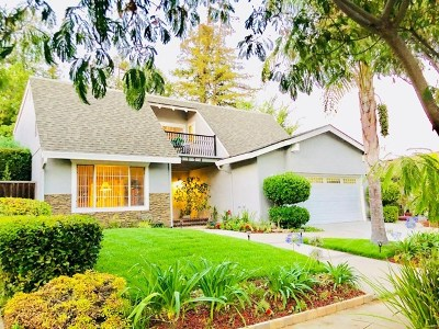 San Jose CA Single Family Home For Sale: $1,549,800