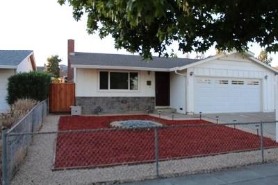 San Jose CA Single Family Home For Sale: $919,900