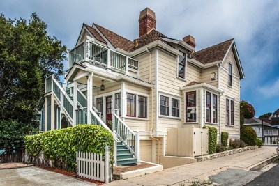 Pacific Grove Single Family Home For Sale: 232 17th