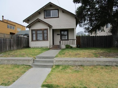 Monterey Single Family Home For Sale: 272 Clay Street