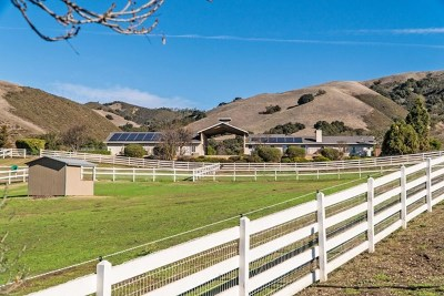 Salinas Single Family Home Active Under Contract: 350 San Benancio Road