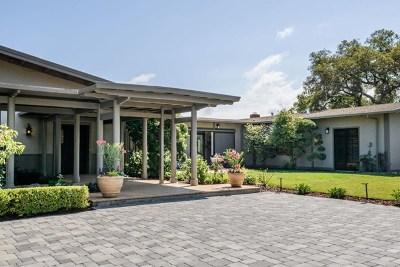 Hillsborough Single Family Home For Sale: 123 Bella Vista Drive