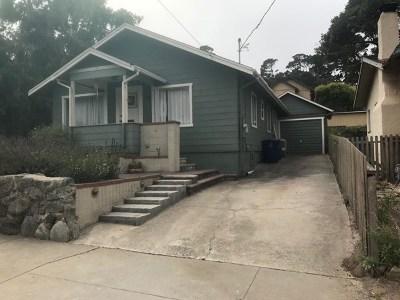 Monterey Single Family Home For Sale: 759 Filmore Street